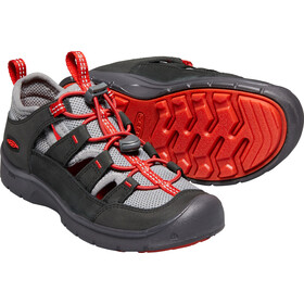 Keen Hikeport Vent Chaussures Enfant, raven/firey red